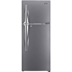 LG Frost Free Refrigerator ( Double Door,Dazzle Steel,260 L,3 Star BEE Rating,GL-S292RDS3 )