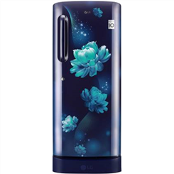 LG Direct Cool Refrigerator ( Single Door,Blue Charm,235 L,4 tar BEE Rating,GL-D241ABCY )