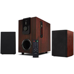INTEX 40W Home Theater ( Bluetooth Home Theater,Black, Brown,2.1 channel,Choral TUFB OS )