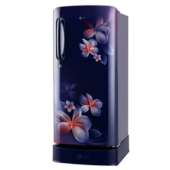 LG Direct Cool ( Single Door,Blue Plumeria,190 L,4 Star BEE Rating,GL-D201ABPY )